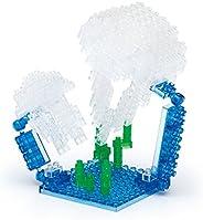 Nanoblock 月亮水母玩具