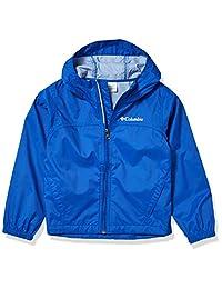 Columbia 男孩 Glennaker 雨夹克,防水透气 Azul Large