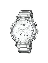 EDWIN 爱德恩 日本品牌 自然系列 石英手表 男士腕表 EW1G013M0044