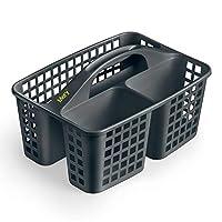 Mery 清洁用品篮,聚丙烯,深灰色,23.3 x 31 x 19 厘米