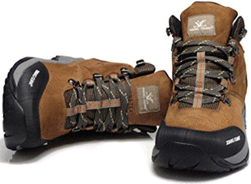 xiangguan 祥冠高帮头层皮0登山鞋 户外鞋 防水鞋 保暖男鞋
