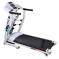 Chislim 启迈斯 多功能折叠跑步机 2.5马力 44MM宽跑台 可折叠家用跑步机 cs7061 黑色