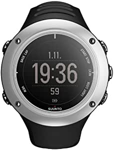 SUUNTO 颂拓 芬兰品牌 拓野2S 石英手表 中性 男女适用腕表 GPS银黑 (全功能的GPS,自行车、游泳、跑步等运动相关功能显示)