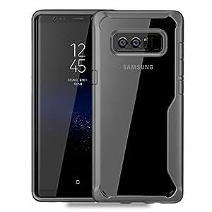 ORNARTO Galaxy Note8 手机壳,Note 8 [基本系列] 超薄贴合外壳优质硬质塑料哑光防滑全防护防刮外壳适用于三星 Note8(2017) 6.3 英尺 Shockproof Grey