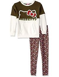 Hello Kitty 女童 2 件套紧身裤套装