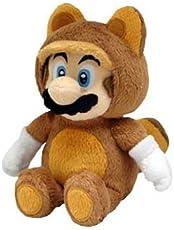Little Buddy Official Super Mario Plush Raccoon Tanooki Mario, 9-Inch