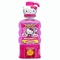 Firefly Hello Kitty 漱口水抗蛀牙 16 Ounce (Pack of 4)
