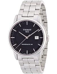 [天梭] TISSOT 腕表 奢华 自动机械 动力马提克80 黑色表盘 手链 T0864071105100 男士 【正规进口商品】