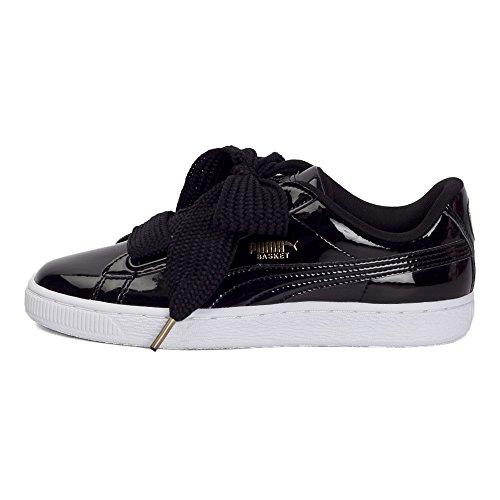 双11预售 : PUMA 彪马 Basket 363073 女子漆皮运动休闲鞋