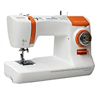 丰田 ECO34B 缝纫机 34 白色和橙色
