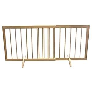 Step Over Pet Gate Medium Oak -1