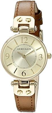 Anne Klein 安妮克萊因 女式 10/9442 皮革表帶手表