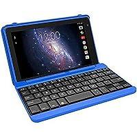 RCA Voyager 7 英寸 16GB 平板电脑,带键盘套和 Android OS,蓝色
