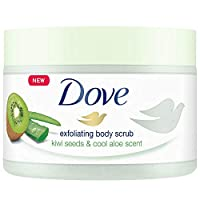 Dove 淋浴身體磨砂膏 獼猴桃罐 225 毫升 6 件裝
