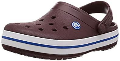 Crocs Crocband 中性成人洞鞋 Red (Burgundy/White 616) 3 (36/37 EU)