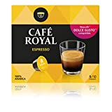 Café Royal Espresso 48 咖啡胶囊,与雀巢咖啡系统兼容,3包