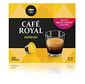 Café Royal Espresso 48 Coffee Pods Compatible With The Nescafé Systems, Pack of 3