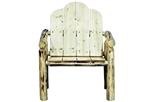Montana Woodworks Montana Collection Deck Chair Ready to Finish 30W x 30D x 37H in.