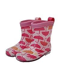 クッカヒッポ 子供用 キッズブーツ かさ 全2色 全3サイズ 粉色 M 17cm