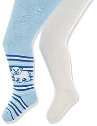 Playshoes 婴儿弹性保温软管裤 Eisbär Mit Komfortbund 紧身裤(2 件装)