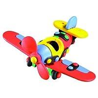 mic-o-mic 米扣 益智拼装玩具交通工具089.002单翼飞机