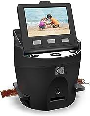 Kodak 柯达数码胶片扫描仪,转换器 35 毫米,126 ,110 ,Super 8 和 8 毫米胶片,负片和滑块,JPEG 包括大型倾斜3.5 LCD和EasyLoad Film 插件
