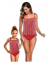BIUBIU 母女泳装家庭搭配泳衣女孩泳装