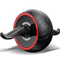UZIPAL 男女健腹轮家用健身器材 自动回弹静音腹肌轮 收腹滚轮家用健腹器 女士初学者收腹瘦腰锻炼马甲线送跪垫 (蓝色)