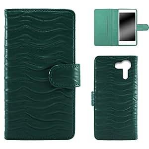Whitenuts 手机保护壳 翻盖型 波浪WN-OD449260_S 21_ FLEAZ F4s CP-F04S *