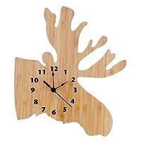 Trend Lab 木制挂钟 麋鹿