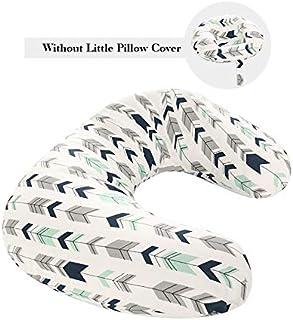 Miracle Baby 哺乳枕,可水洗 U 形哺乳枕,适用于哺乳妈 箭头 Pillow Cover