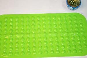 享家PVC浴室防滑地垫36*72㎝草绿色 XJYSFHCL