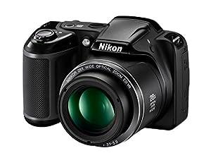 Nikon COOLPIX L340 Digital Camera (Black) [Import Model]