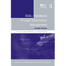 BIALL Handbook of Legal Information Management (English Edition)