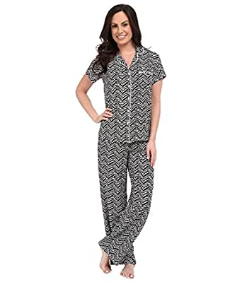 Splendid 女式 PJ pyjama 套装 Sketchy Scallop Large
