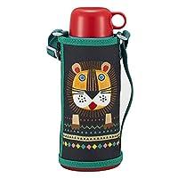 Tiger 虎牌 小狮子儿童水杯 2020新款 800ml 两用型保冷/保温杯 附带保冷直饮杯口/保温杯口/杯套 MBR-C08GKL