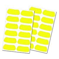 Rawlings 黄色*黑色贴纸
