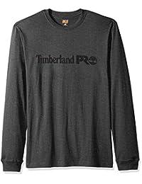 Timberland PRO 男士棉质核心长袖 T 恤带标志