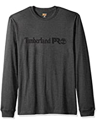 Timberland PRO 男士棉质核心长袖 T 恤标志