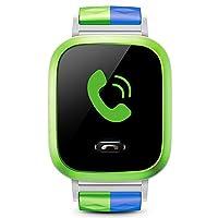 小天才电话手表Y01S 浅绿色 儿童智能手表360度安全防护 学生定位手机 儿童电话手表 儿童手机 男孩