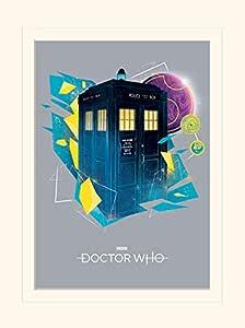 Doctor Who 艺术印刷品,多色,30 X 40厘米