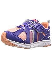 TSUKIHOSHI 儿童女童彩虹色(幼儿/小童)紫罗兰色/桃色运动鞋