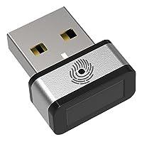 PQI USB指纹认证键 My Lockey FIDO认证 支持Windows Hello功能 Mone对策 1年保修 (国内正品) DUFPSL