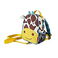 美国 SKIP HOP Zoo-let迷你背包(附防走失带)-长颈鹿SH212258