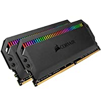 CORSAIR DOMINATOR PLATINUM RGB 32GB (2x16GB) DDR4 4000 (PC4-32000) C19 1.35V - 黑色