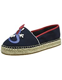 TOMMY HILFIGER 女式 patch corporate 帆布鞋
