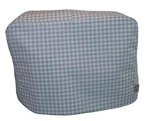 cozycoverup ® 防尘罩适用于 Kenwood 搅拌机蓝色格子 彩色 Chef Classic/Premier