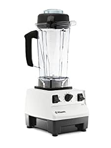 Vitamix 维他密斯 5200搅拌机,专业级,64盎司(1817.6毫升)容器,白色 需配变压器