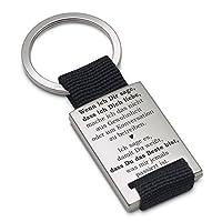 """Lieblingsmensch 钥匙扣 型号为 """"如果我对你说"""""""