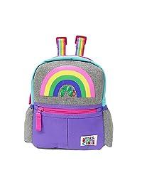 日本育儿 饥饿的毛毛虫 带*带 儿童背包 彩虹